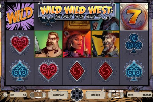 Wild Wild West: The Great Heist Slot