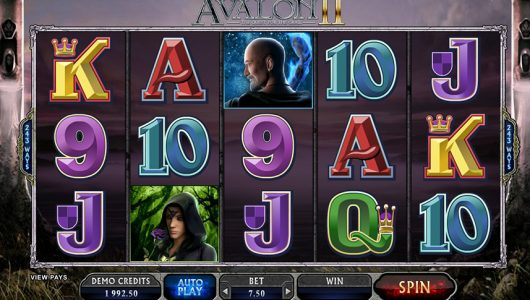 Avalon 2 Microgaming Slot