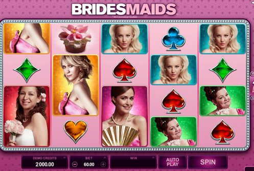 Bridesmaids Microgaming Slot
